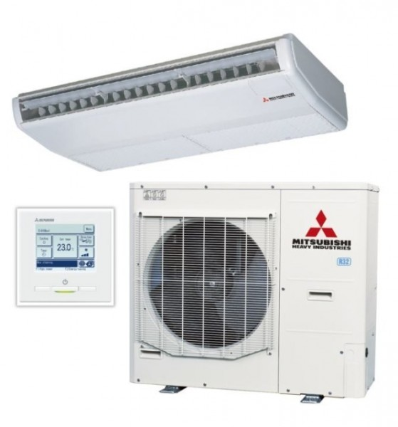 Ceiling Suspended system 10kw R32 - Micro Inverter - 3ph