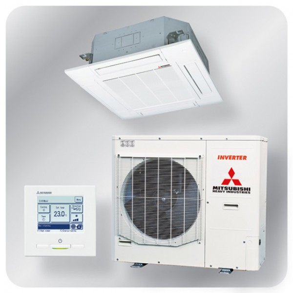 Standard Cassette system 14kw R410A - Micro inverter - 3ph
