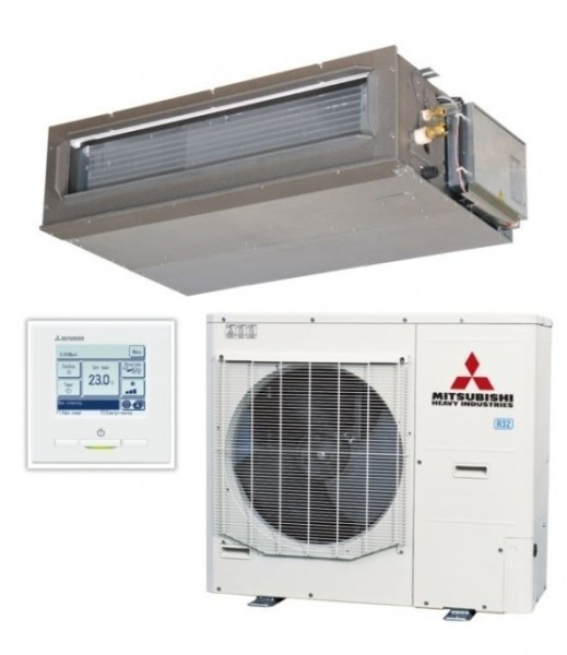 Ducted system 12.5kw R32 - Micro Inverter - 1ph