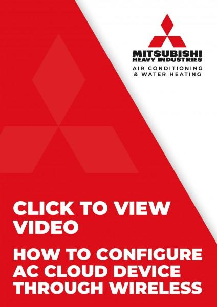 Configure AC Cloud Control Device Through Wireless - Intesis 629966, 629997 & 62995