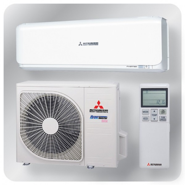 Wall mounted system 3.5kw R410A - Diamond Inverter
