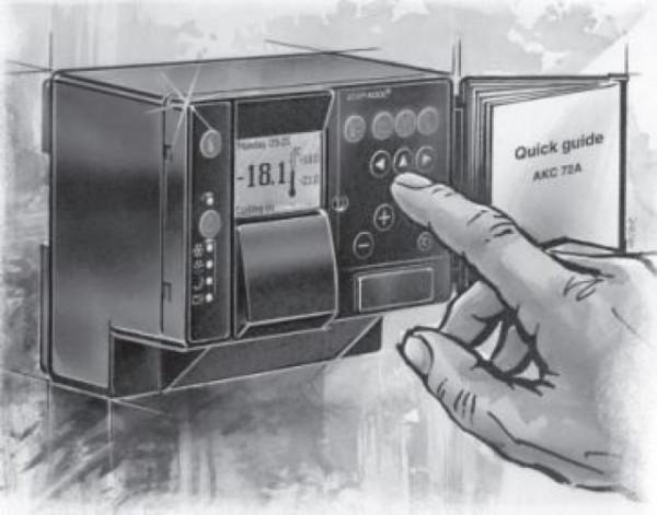 Danfoss Electronic Temperature Controllers