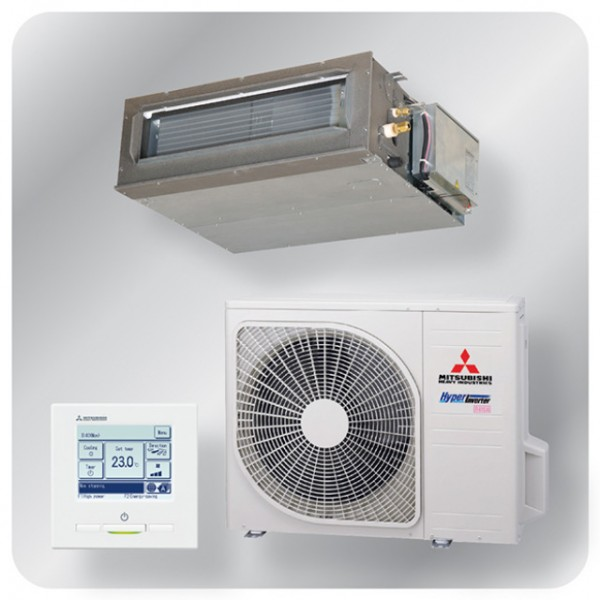Ducted system 5.0kw R410A - Hyper Inverter