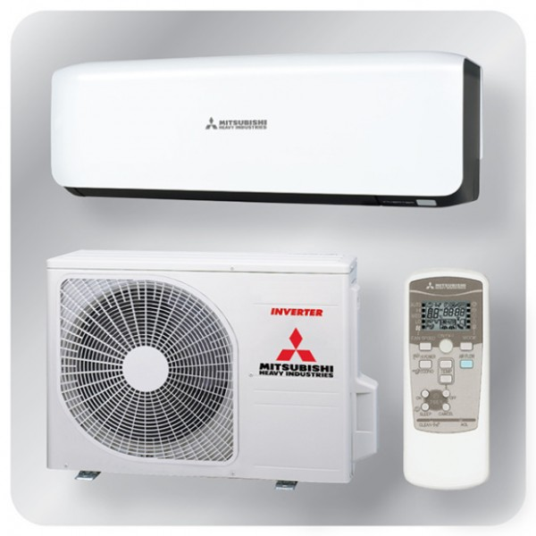 Wall Mounted system 3.5kw R32 - Premium Inverter - Black + White