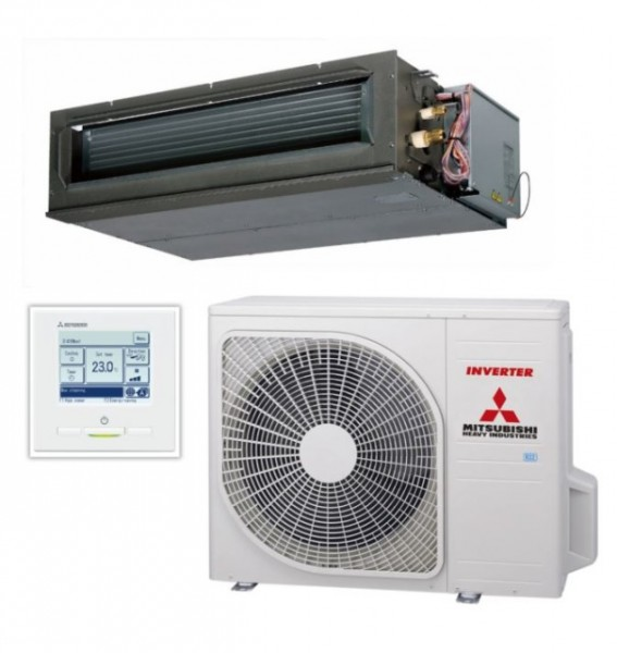 High static Ducted system 7.1kw R32 - Standard Inverter - 1ph