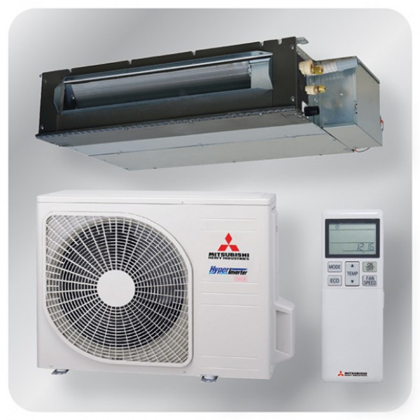 Ducted system 2.5kw R410A - Hyper inverter