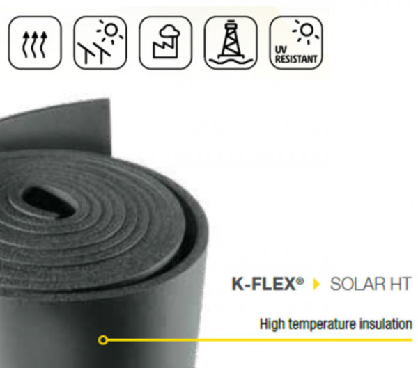 K-Flex 'Solar' Insulation High Temp Sheet