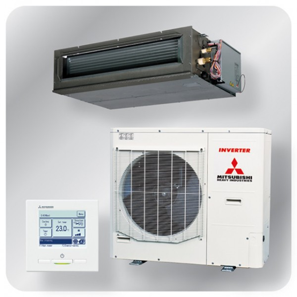 High static Ducted system 10kw R410A - Micro Inverter