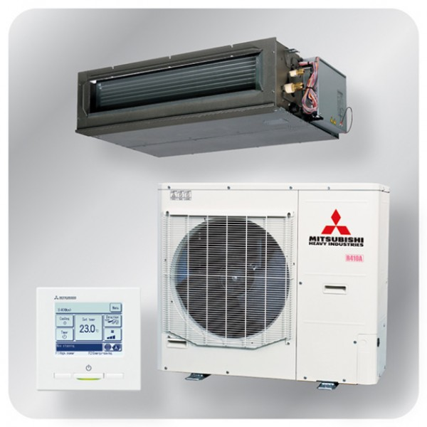 High static Ducted system 14kw R410A - Micro Inverter - 3ph