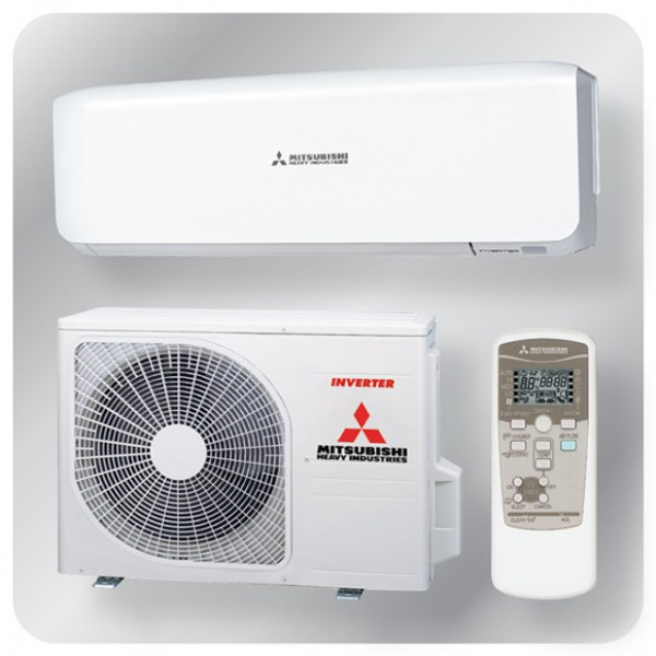 Wall mounted system 5.0kw R410a - premium inverter - pure white