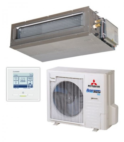 Ducted system 7.1kw R32 - Hyper Inverter - 1ph
