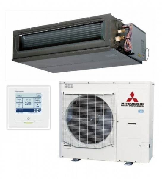High static Ducted system 10kw R32 - Micro Inverter - 1ph
