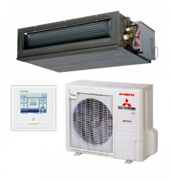 High static Ducted system 10kw R32 - Standard Inverter - 1ph