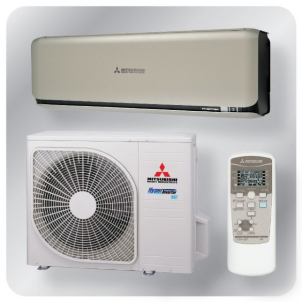 Wall mounted system 5.0kw R32 - Diamond Inverter - Titanium