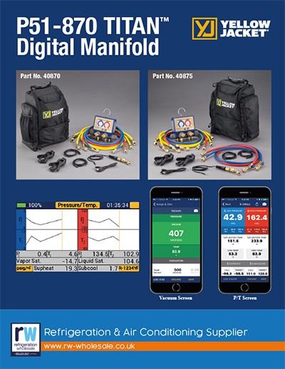 YJ P51-870 Titan Digital Manifold (RW)