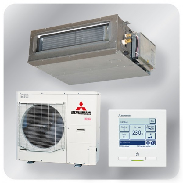 Ducted system 12.5kw R410A - Micro Inverter - 3ph