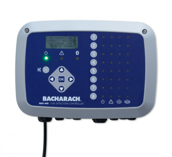 Bacarach MGS Range Up to 8 Channel