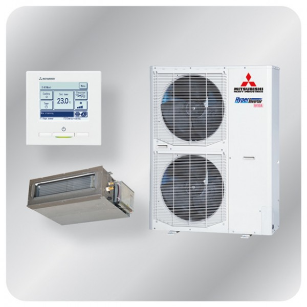 Ducted system 10kw R410A - Hyper Inverter