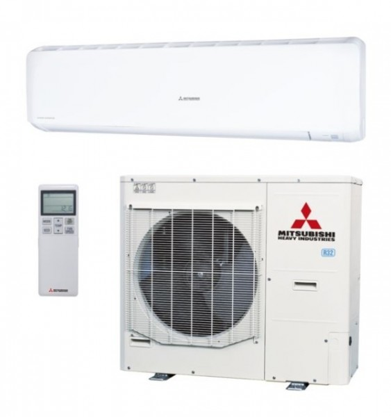 Wall mounted system 10kw R32 - Premium Inverter - 3ph - 50m pipe run