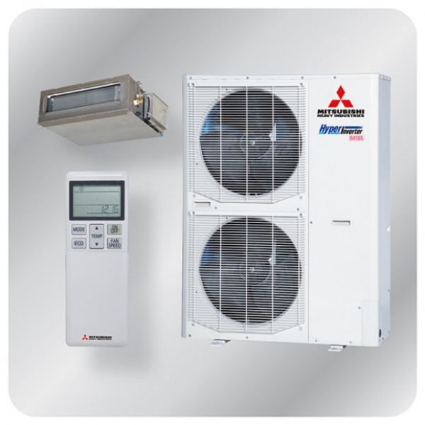 Ducted system 12.5kw R410A - Hyper Inverter - 3ph